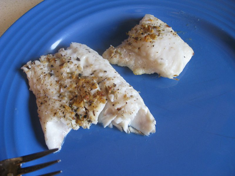 Brooklodge Spice Rub – on hake!