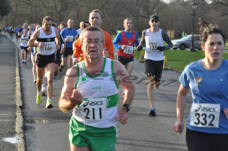 On the first lap of Tom Brennan 5k