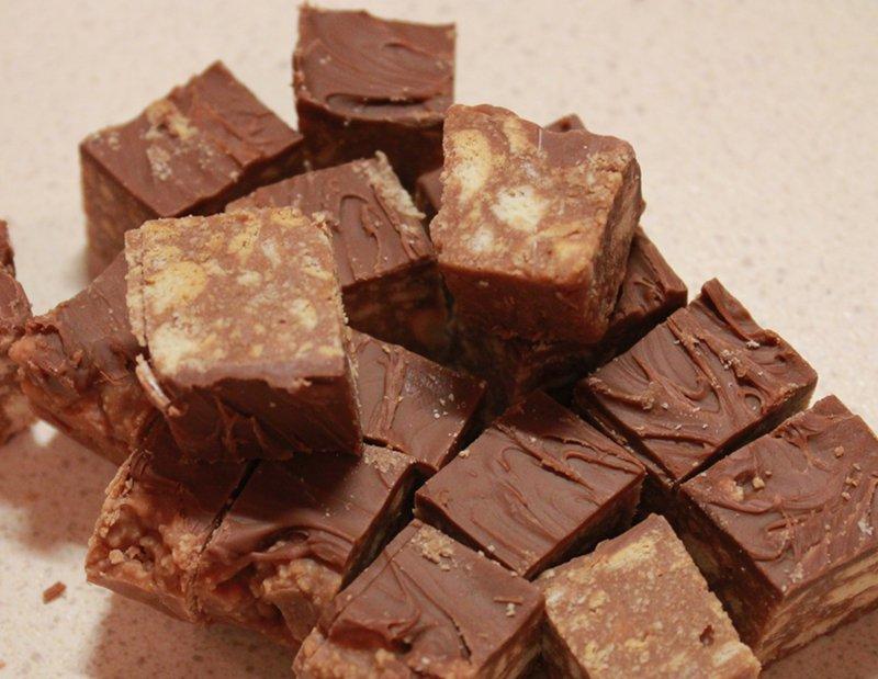 Mum's Chocolate Squares
