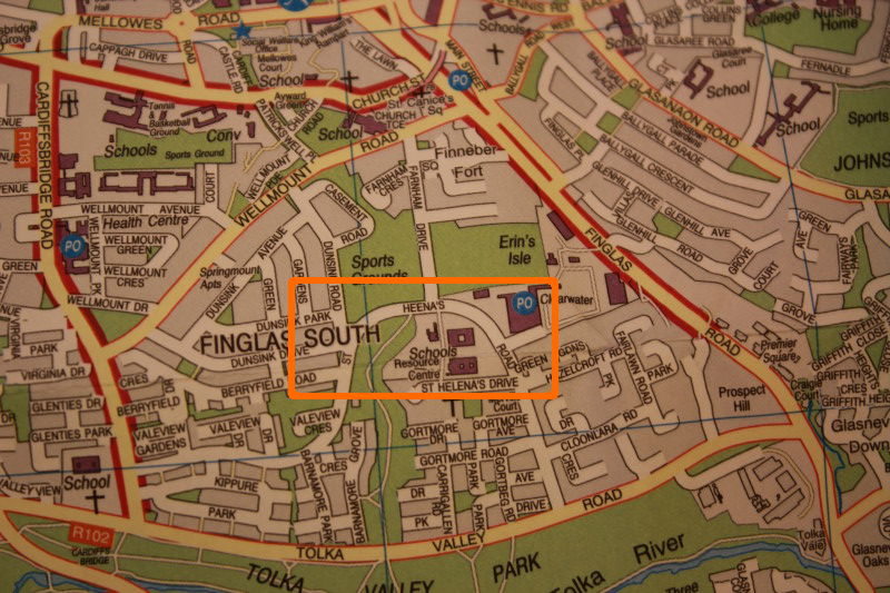 Dublin Street Map typo – OSI very helpful
