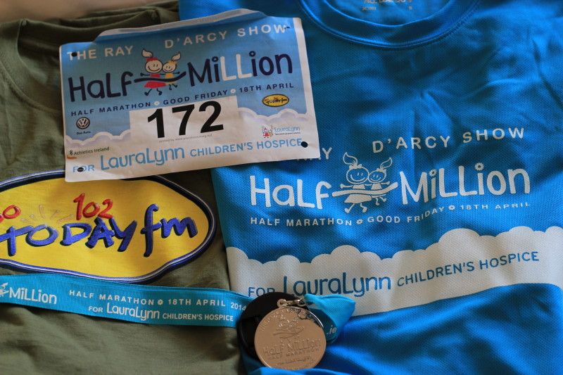 Ray D'Arcy's Half Million Half Marathon for Laura Lynn