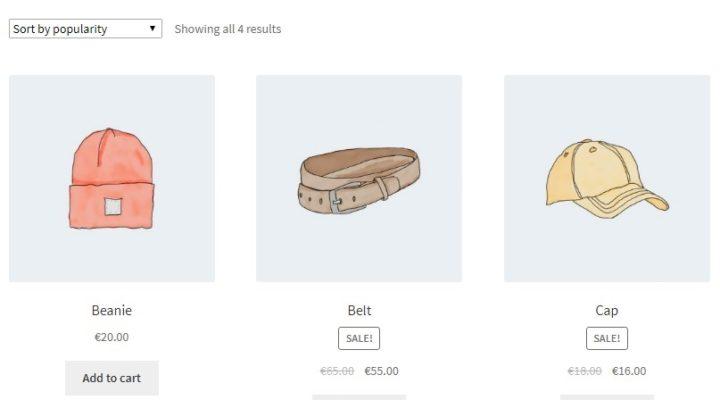 Change WooCommerce category layout