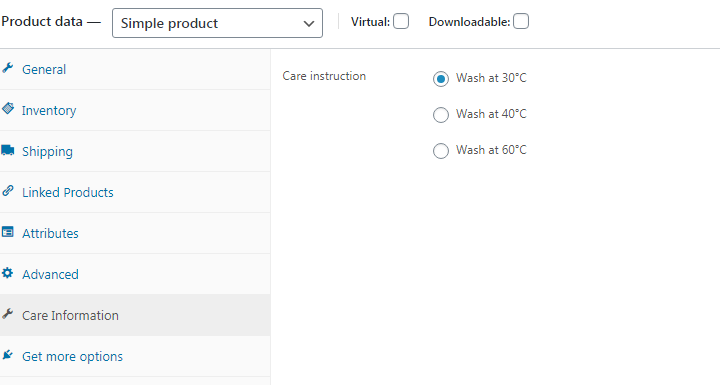 Add custom tab to Product Data area of Edit Product page